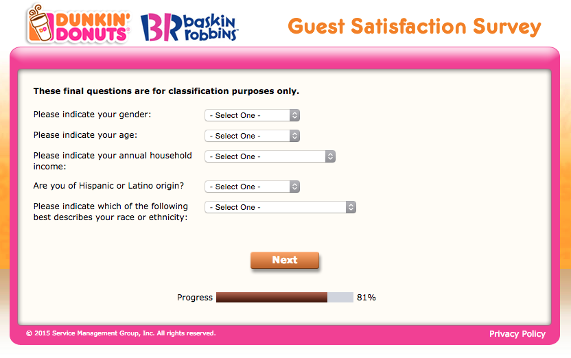 TellDunkin Customer Satisfaction Survey Guide