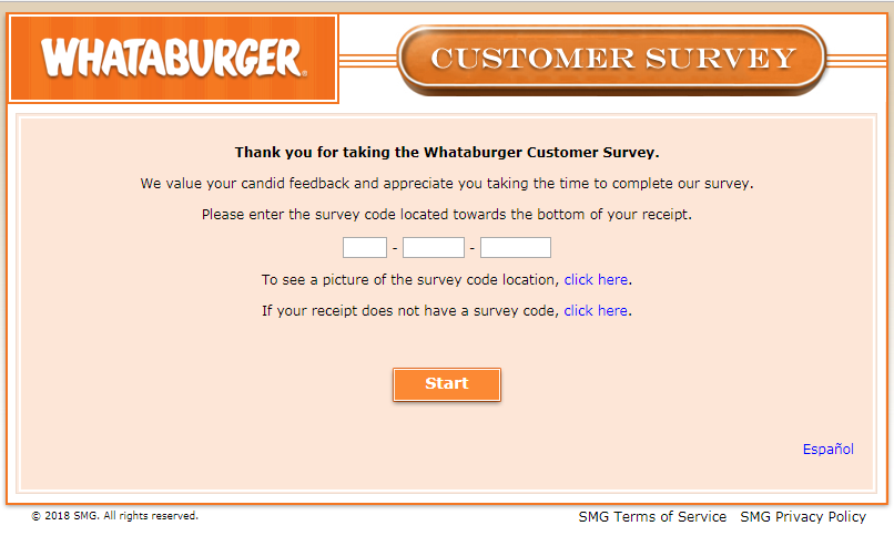 www.Whataburgersurvey.com