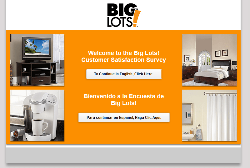 BiglotsSurvey: Complete Big Lots Customer Survey At www.biglotssurvey.com And Win $1,000 Card