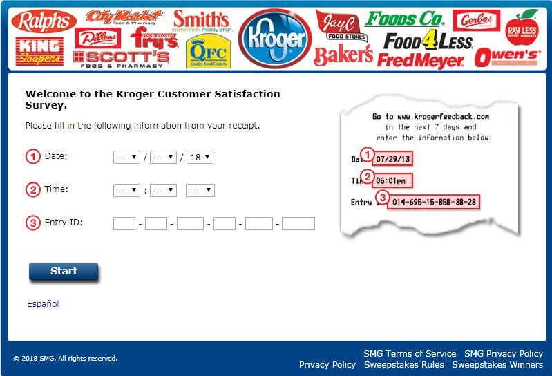 KrogerFeedback: Finish Customer Satisfaction Survey At www.krogerfeedback.com & Win $5000 Gift Card