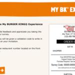 MyBKExperience: Take Burger King Survey At mybkexperience.com & Win Free Whooper