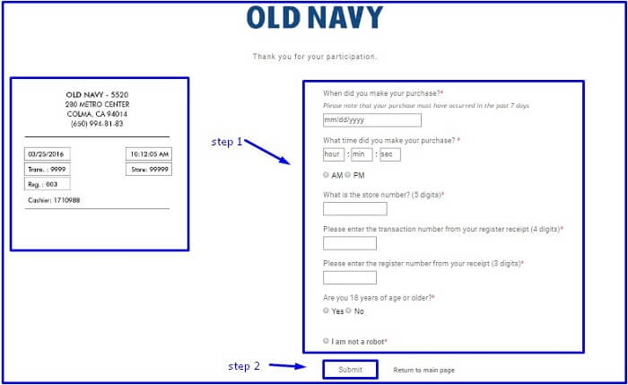 Feedback4OldNavy: Take Old Navy® Customer Satisfactory Survey & Get 10% Off