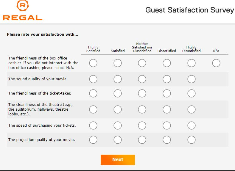 TalkToRegal: Take Regal Survey At www.talktoregal.com And Win $100 Card