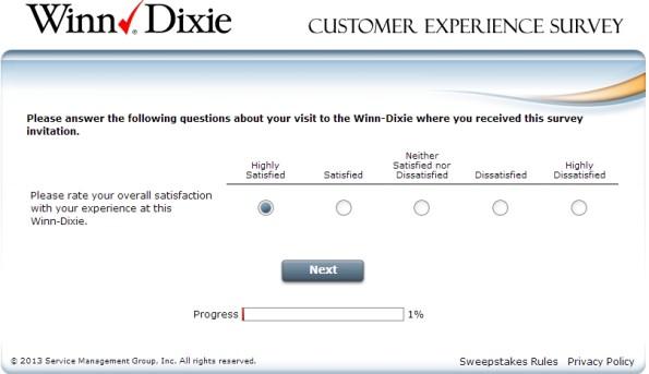 TellWinnDixie: Complete The Tell Winn Dixie Survey At www.tellwinndixie.com And Win $5 or $40