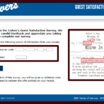 TellCulvers Guest Satisfaction Survey At www.tellculvers.com - Win Free Custard