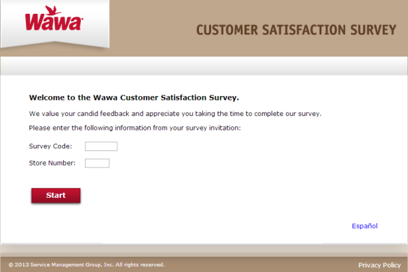Wawa Survey: Finish The Customer Satisfaction Survey At www.mywawavisit.com