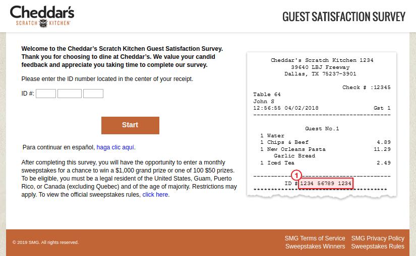 Cheddarsfeedback: Finish Cheddar's Scratch Kitchen Survey At www.cheddarsfeedback.com And Win $1,000 USD Cash Prize