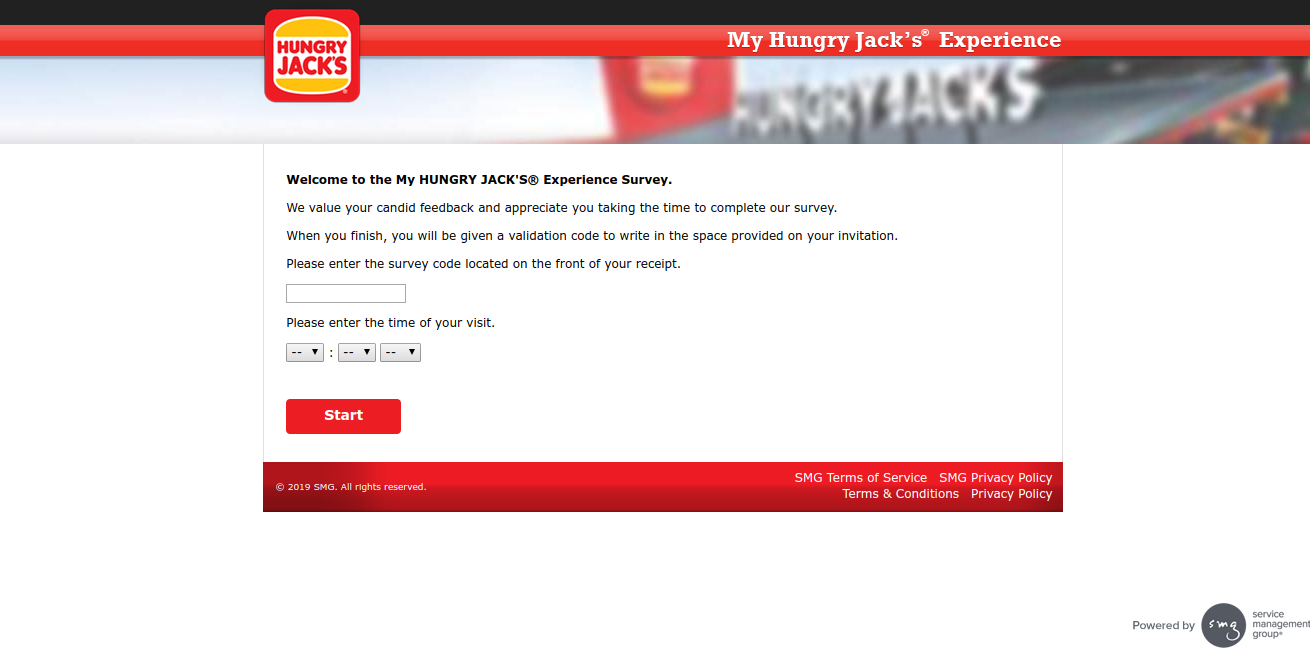 MyHJExperience: Take Hungry Jack's Official® Survey At www.myhjexperience.com & Win Whopper Burger