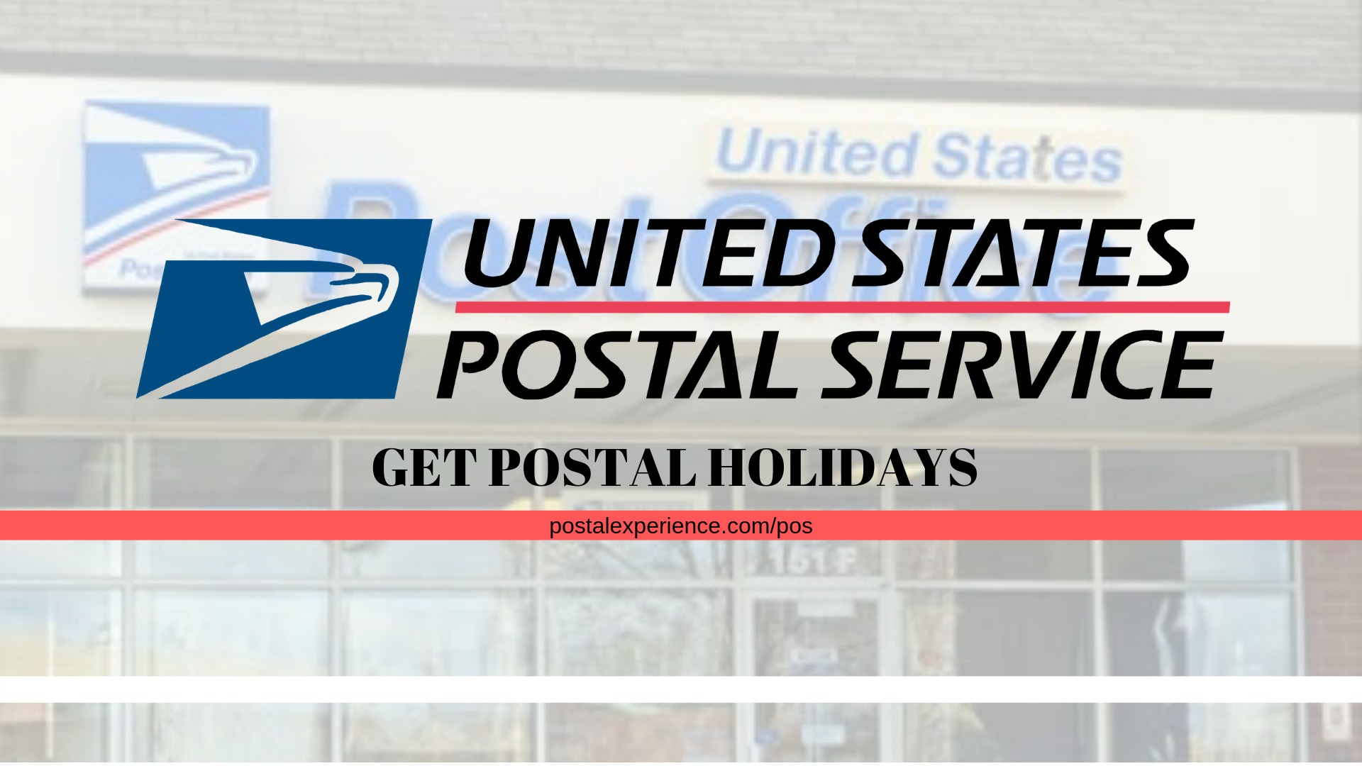 Postalexperience: Official USPS Customer Satisfaction Survey At www.PostalExperience.com/POS